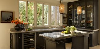 Trendy I Shaped Kitchen