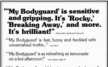 "Video Flashback: ""My Bodyguard"""