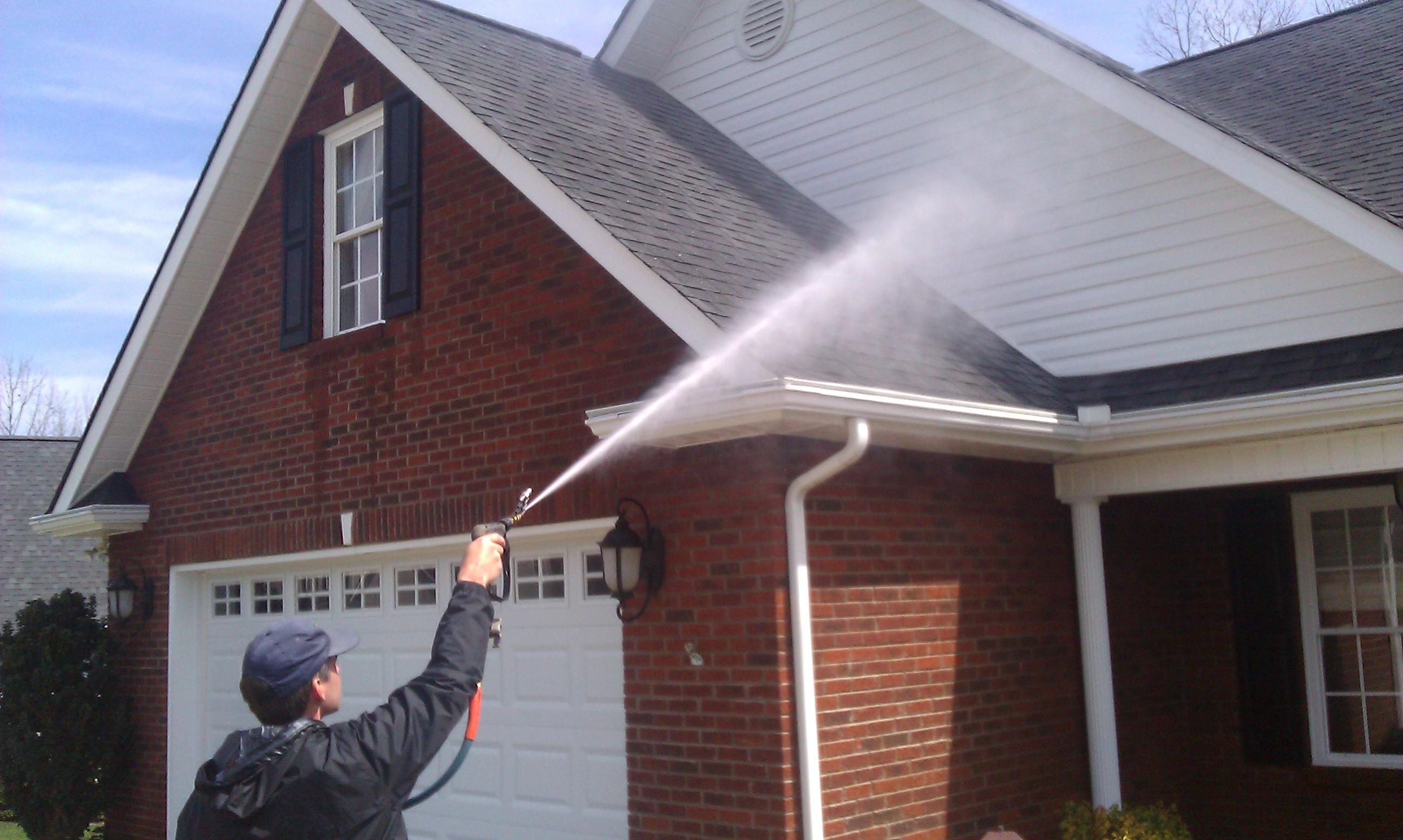 Washing Your Home Critical Shots