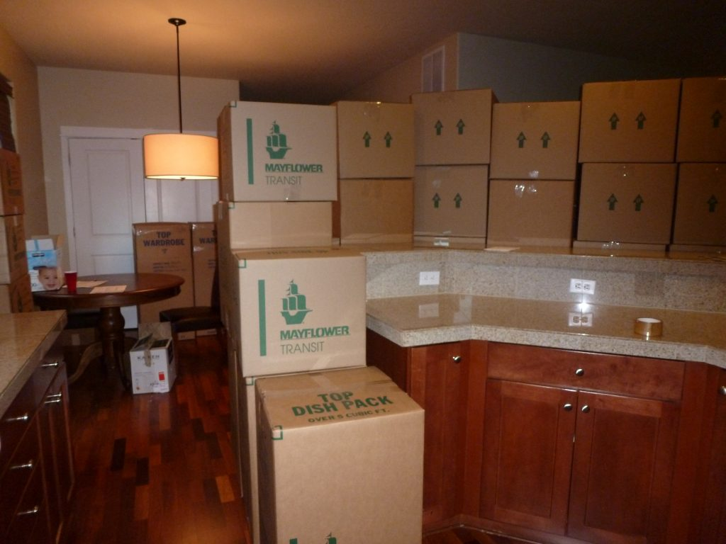 Moving into new house