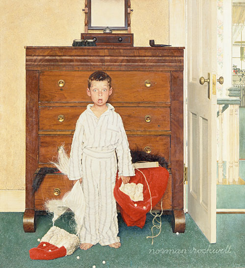 the-discovery-norman-rockwell-santa-claus
