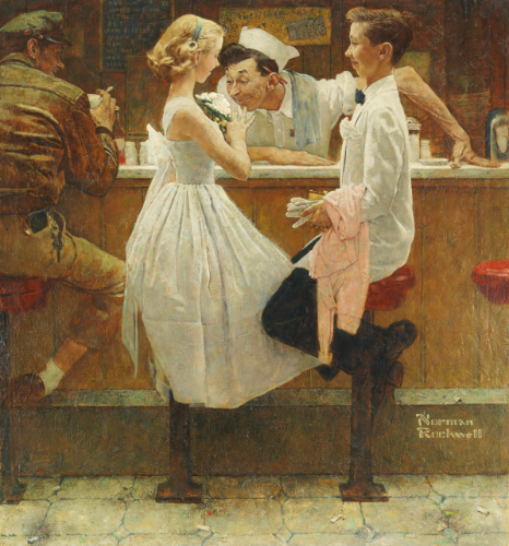 after-the-prom-norman-rockwell