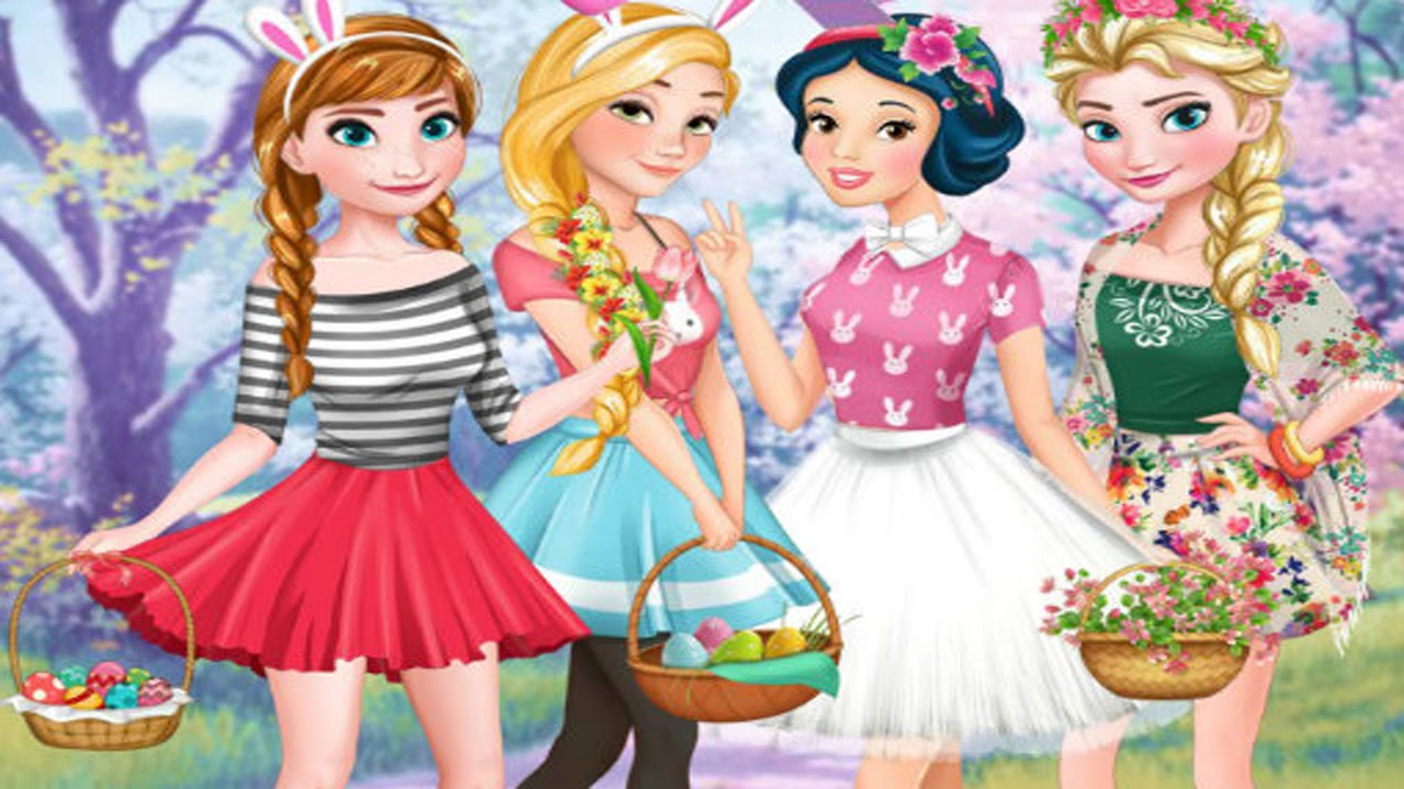 disney-princesses-easter-egg-hunt