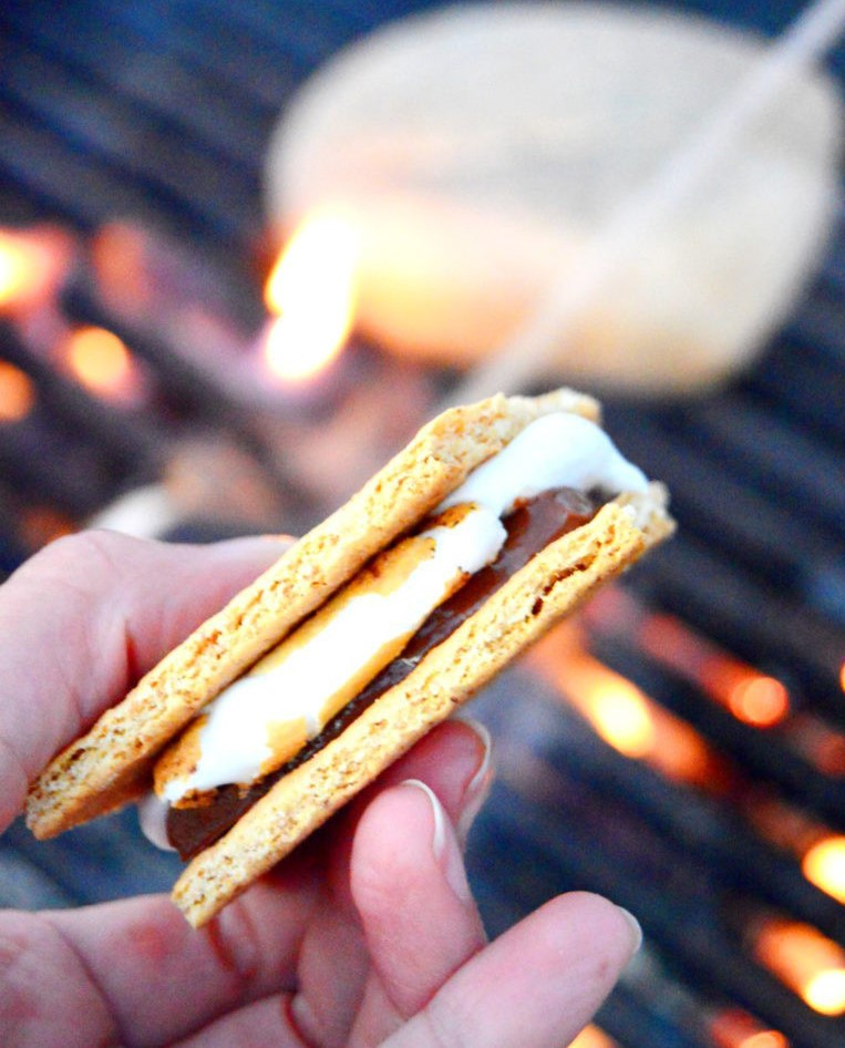fresh-roasted-burned-charred-smores-camping-tradition
