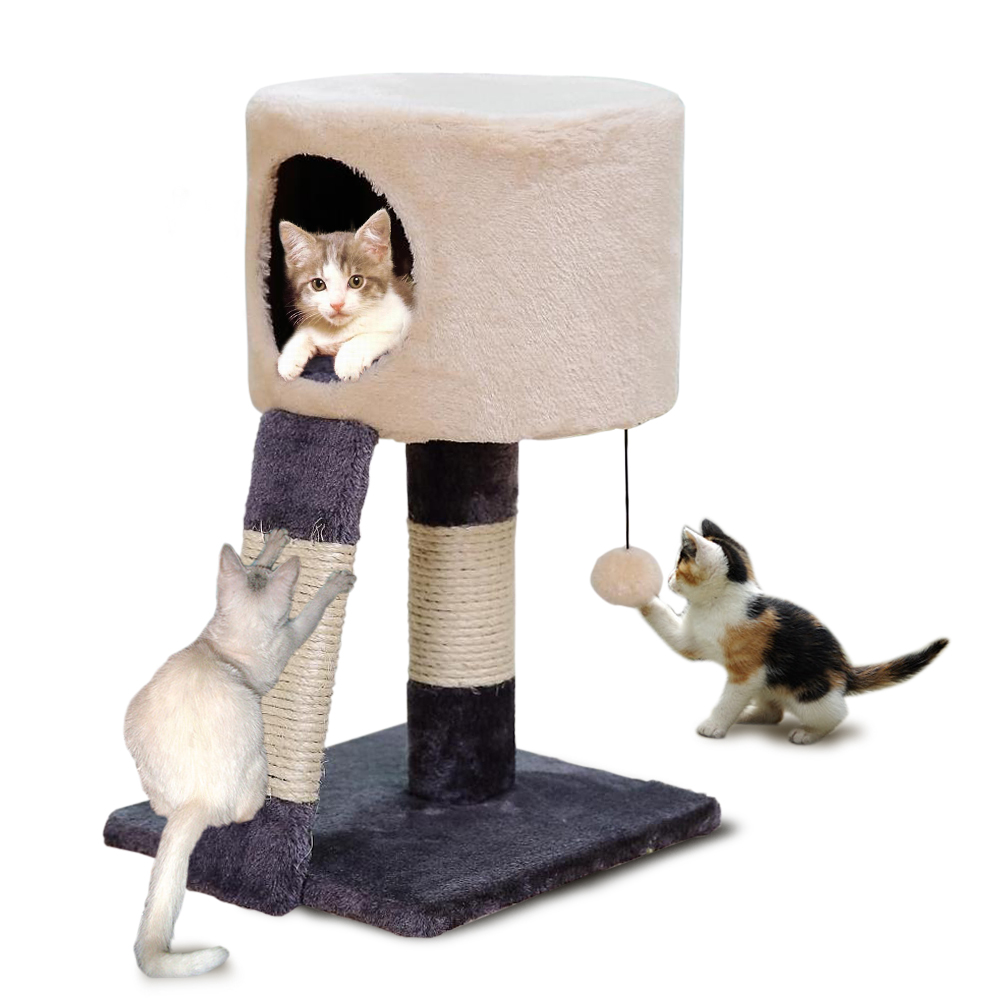 A-cat-tree-with-a-scratching-post