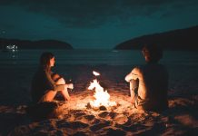 smores-around-a-beach-bonfire-camping-trip