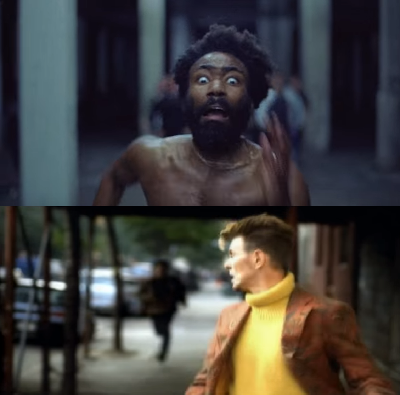 david-bowie-childish-gambino-running