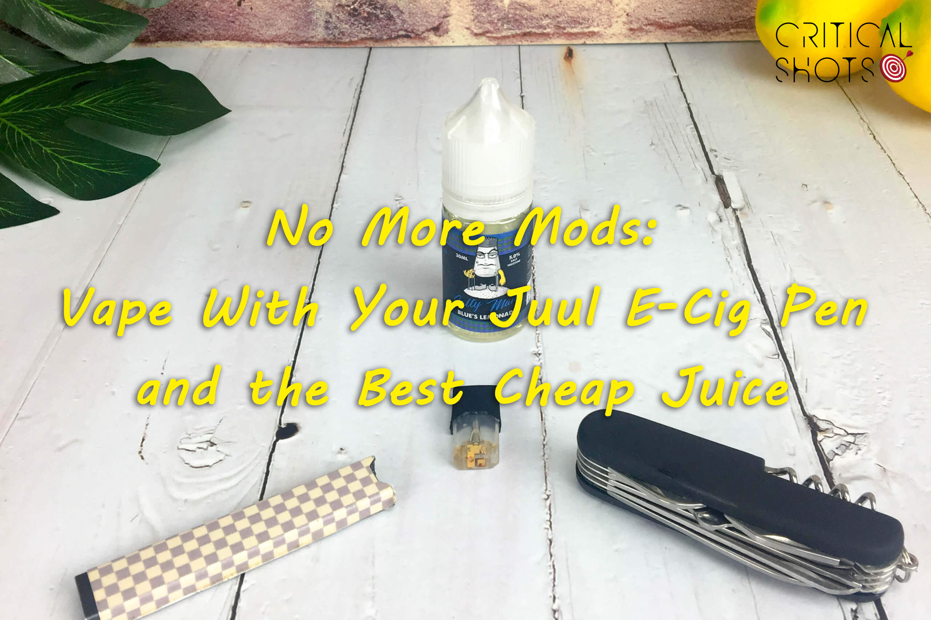 No More Mods: Vape With Your Juul E Cig Pen and the Best