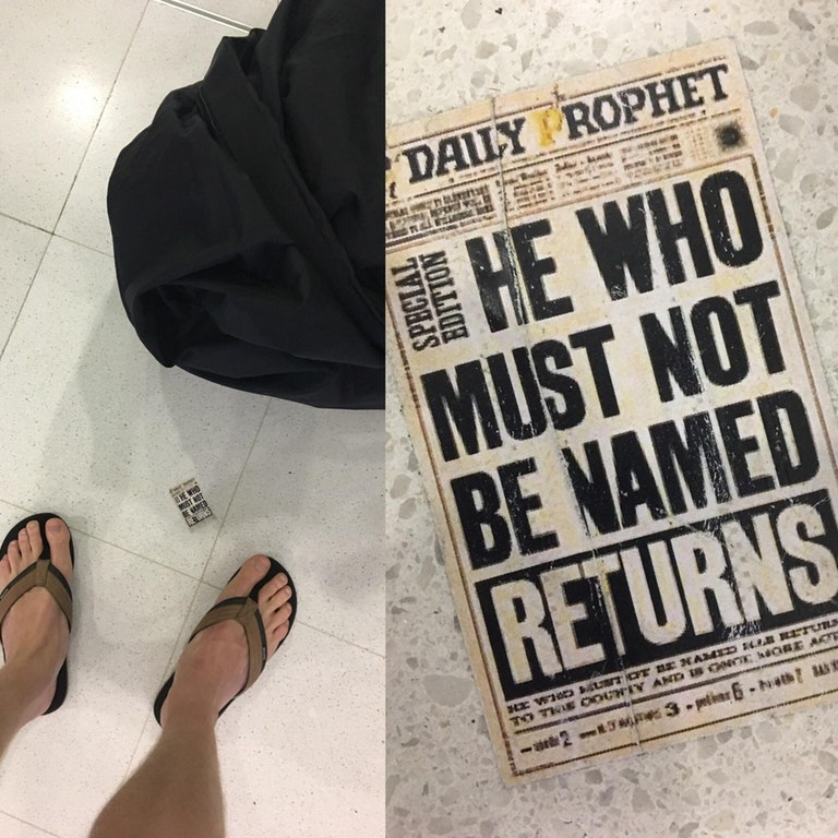 tiny-harry-potter-newspaper-sydney-airport-easter-egg